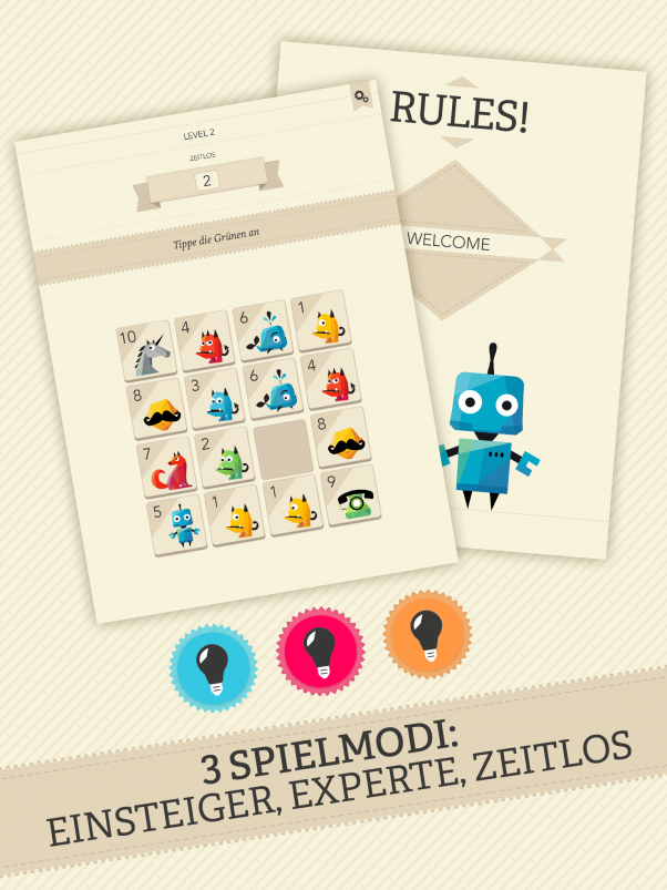 Rules! - Bestes mobiles Spiel beim DCP 2015