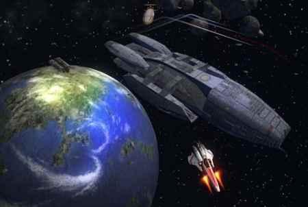 Battlestar Galactica Weltraum