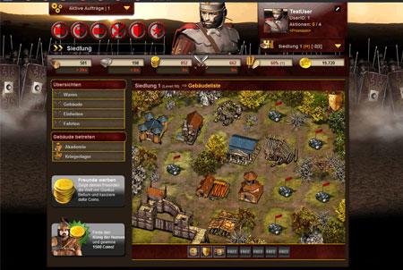 Gladius Bellum Browsergame