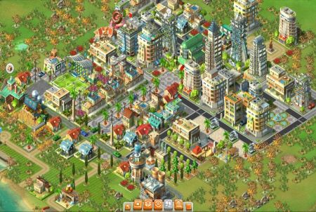 Rising Cities Simulation