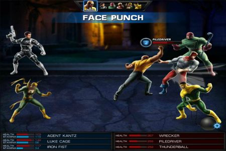 Marvel Avengers Alliance Charakter