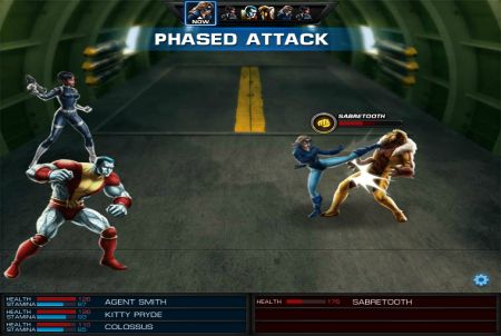 Marvel Avengers Alliance Fight