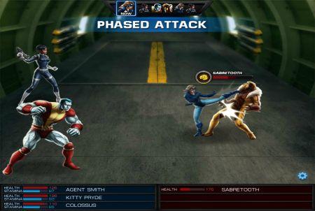 Marvel Avengers Alliance Fight