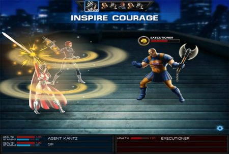 Marvel Avengers Alliance Held
