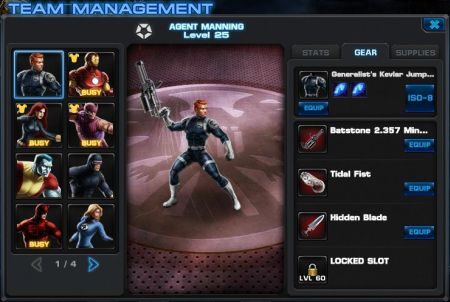 Marvel Avengers Alliance Heldenspiel