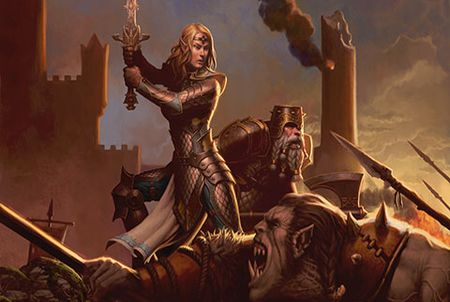 Dungeons & Dragons Neverwinter Kriegerin