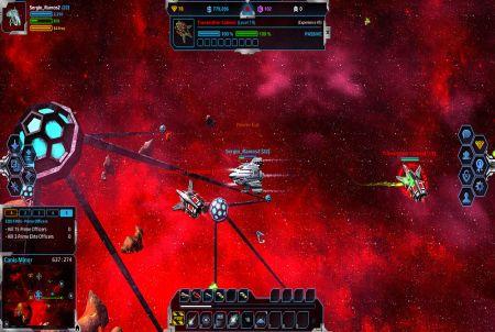 Andromeda 5 Kampf