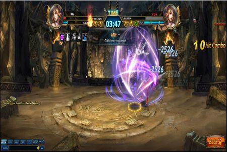 Blade Hunter Arenakampf
