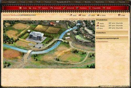 KingsAge Siedlung