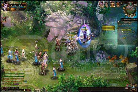 League of Angels Gameplay