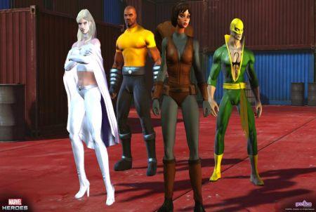 Marvel Heroes Browsergame