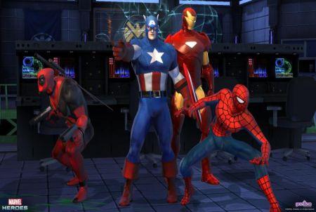 Marvel Heroes Helden