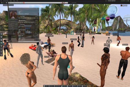 Second Life Beach