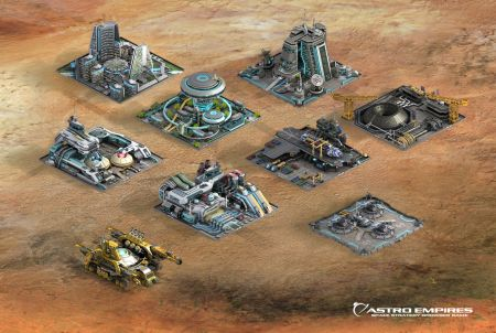 Astro Empires Gebäude