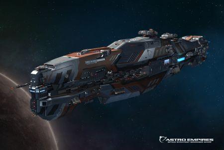 Astro Empires Raumschiff
