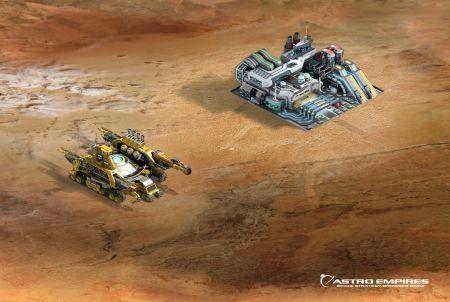 Astro Empires Siedlung