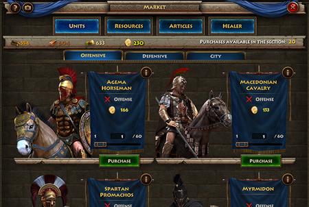 Spielautomat Sparta kostenlos online spielen