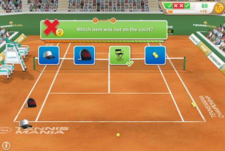 Tennis Browsergame