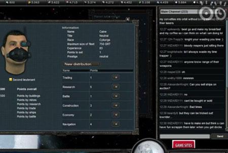 Empire Universe 2 Charakter