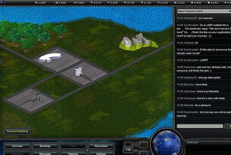 Empire Universe 2 Weltkarte