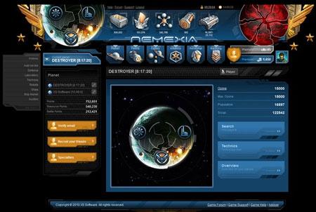 Nemexia Sci-Fi Browsergame