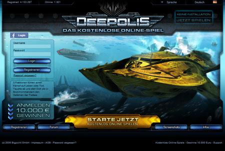 Deepolis Browsergame