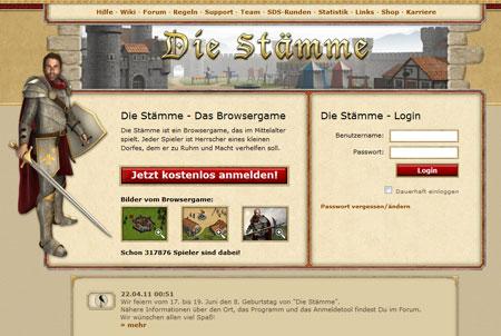 Die Staemme Browsergame