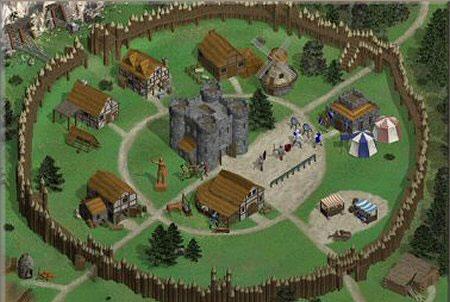 Die Staemme Dorf