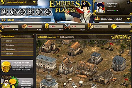 Empires in Flames Strategiespiel