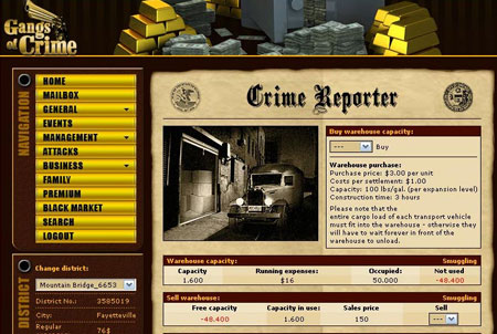 Gangs of Crime Onlinegame