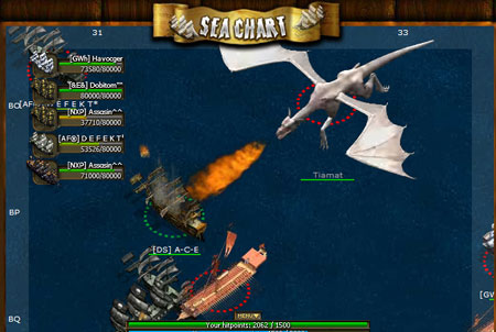 Seafight Drache