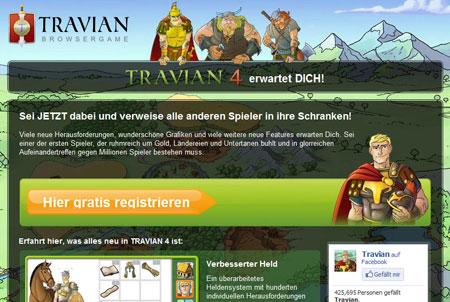 Travian Homepage
