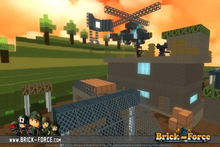 Brick Force Shooter