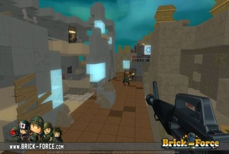 Brick Force Waffe