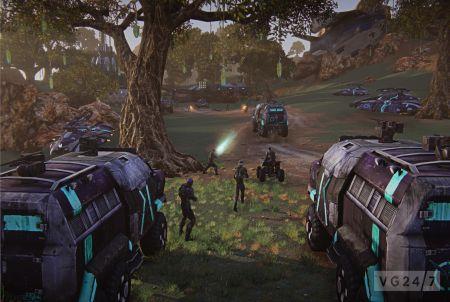 Planetside 2 Online Shooter