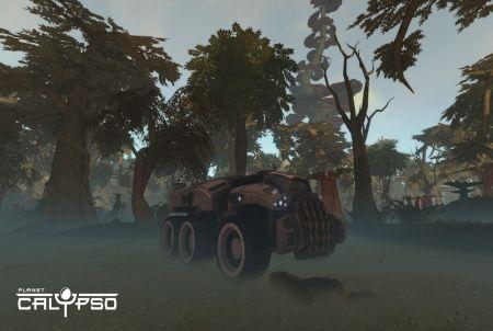 Planet Calypso Fahrzeug