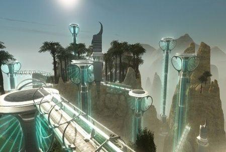 Planet Calypso Umgebung