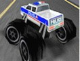 3D Polizei Monstertruck