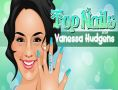 Top Nails with Vanessa Hudgens